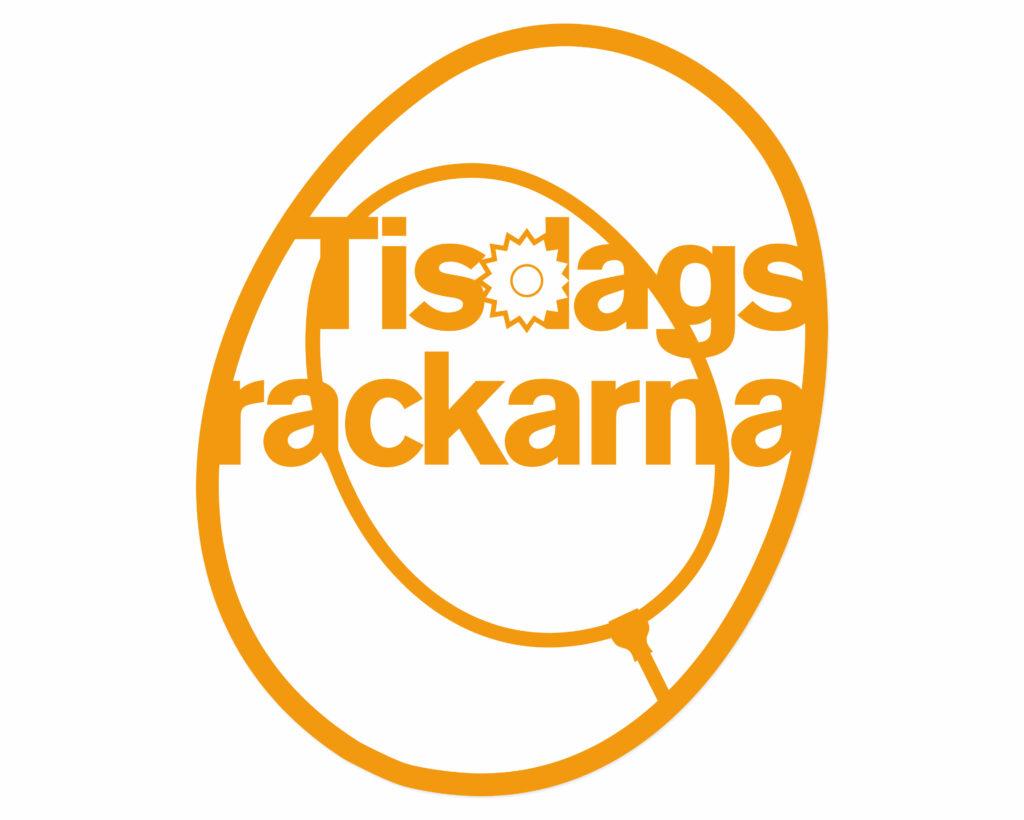 ©Jonas Nilsson. Illustration. Logotyp. Tisdags rackarna. Grafisk formgivning av Jonas Nilsson.